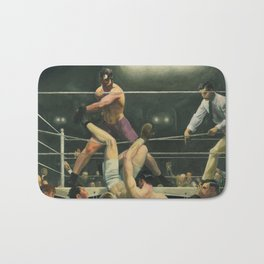 Dempsey and Firpo Boxing - George Bellows Bath Mat