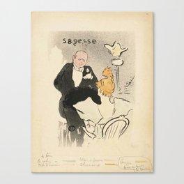 """Henri de Toulouse-Lautrec """"Sagesse"""" Canvas Print"""