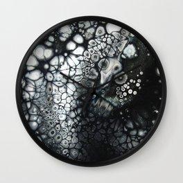 Rock Salt - Original Abstract Painting Wall Clock