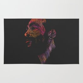 Marvin Gaye Color version Rug