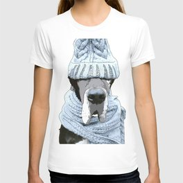 Great Dane Winter is Here T-shirt
