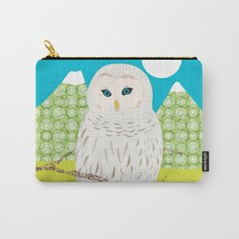 Blanche chouette Carry-All Pouch
