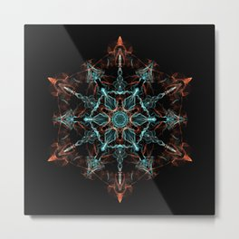 Substance of the Universe Mandala Metal Print
