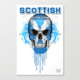 To The Core Collection: Scotland Canvas Print