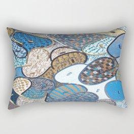 Winter Abstraction Rectangular Pillow