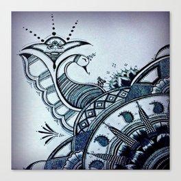 Tailfeather Shake Canvas Print