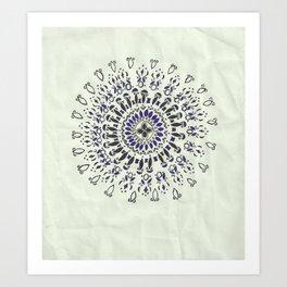 Min Mandala  Art Print