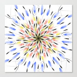 Geometric mandala Canvas Print