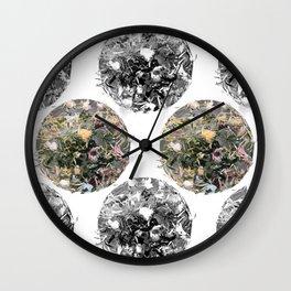 Tea Garden Wall Clock