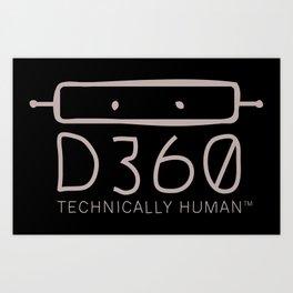 d360 Art Print