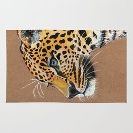 Leopard glance Rug