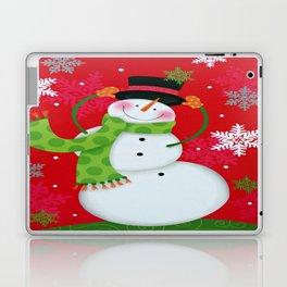 Happy Snowman Laptop & iPad Skin