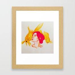Dreaming of Fish Framed Art Print