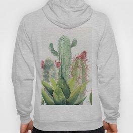Cactus Watercolor Hoody