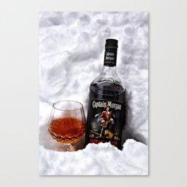 Ice Cold Captain Morgan Rum Canvas Print