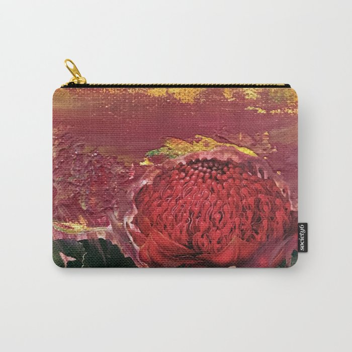 Waratah Dreaming Carry-All Pouch