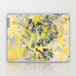 Yellow Flower Storm Laptop & iPad Skin