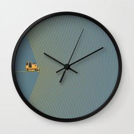 Marvin Heemeyer Wall Clock