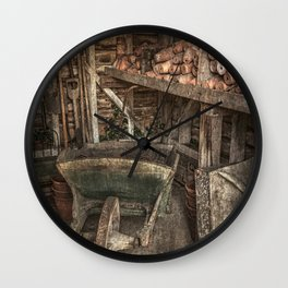 The Garden Shed Wall Clock