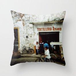 Tortilleria Rosario Throw Pillow