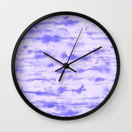 Stratus Ultraviolet Wall Clock