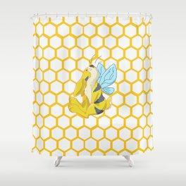 Ordinaire Bunny Bee / Bumble Bunny Shower Curtain