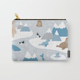 Arctic animals Carry-All Pouch