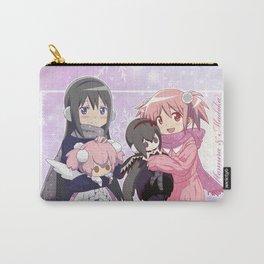 Madoka Kaname and Akemi Homura Carry-All Pouch