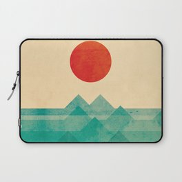 The ocean, the sea, the wave Laptop Sleeve