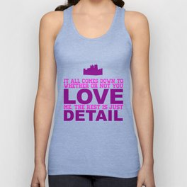 Downton Abbey (Branson) Unisex Tank Top