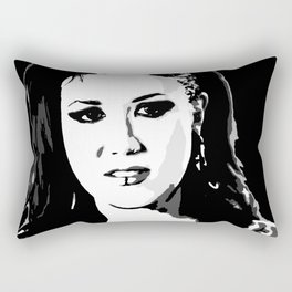 Alissa White-Gluz (3) Rectangular Pillow
