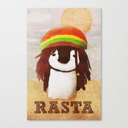 Reggae Penguin Canvas Print
