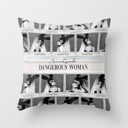 Dangerous Woman Drawings Design Pattern Throw Pillow