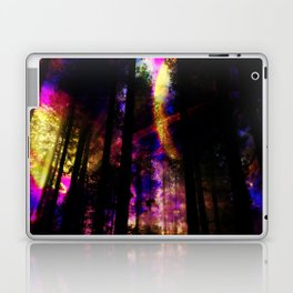 close your eyes and dream with me Laptop & iPad Skin
