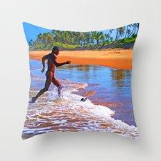Beautiful Bahia Throw Pillow