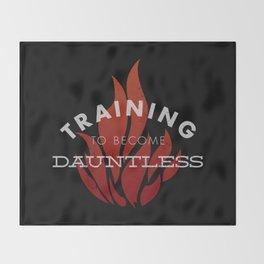 Training: Dauntless Throw Blanket