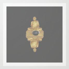 The Golden Monk Art Print