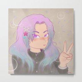 Shoujo Sparkle Metal Print
