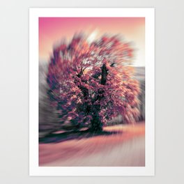 The tree of spring Art Print