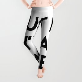 Trust me I'm a lawyer Leggings