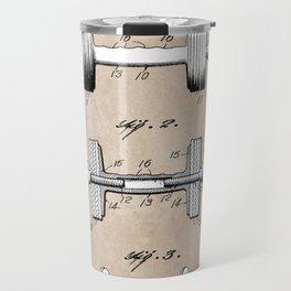 patent art Jowett Dumb Bell 1927 Travel Mug