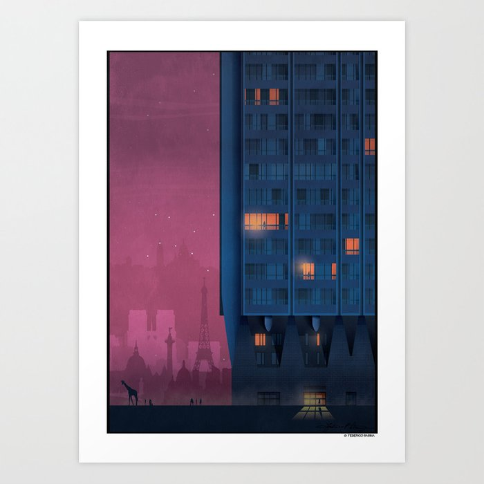 Evasion 2000 tower Art Print