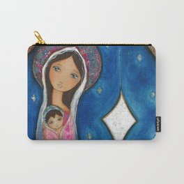 Nativity Star III by Flor Larios Carry-All Pouch