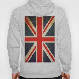 Vintage Union Jack British Flag Hoody