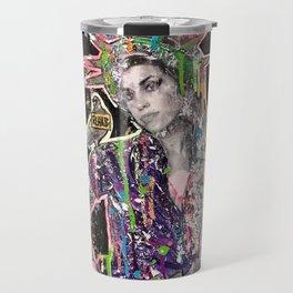Rehab Amy Graffiti in New York City Travel Mug