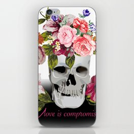 Love is compromise iPhone Skin