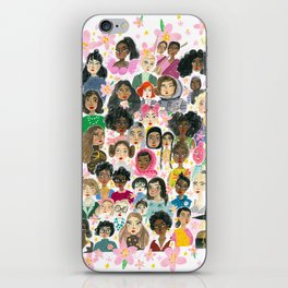 Women of the world iPhone Skin
