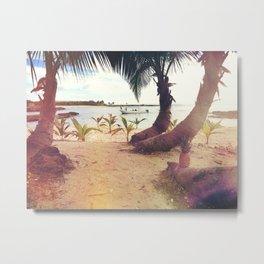 Tropical Wish Metal Print