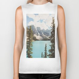Moraine Lake II Banff National Park Biker Tank