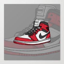 Jordan1-OG Chicago Canvas Print